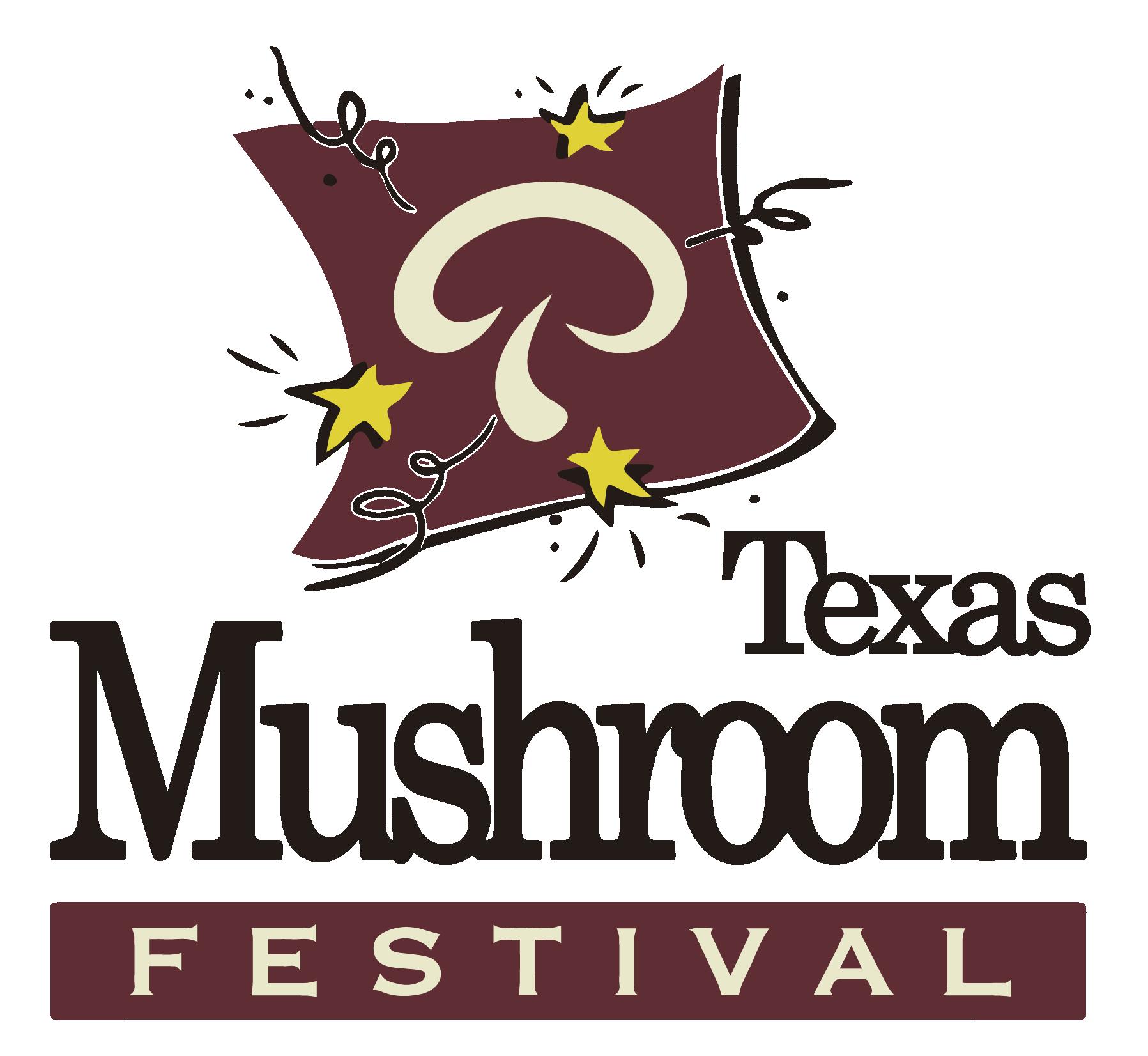 website design for the Texas Mushroom Festival