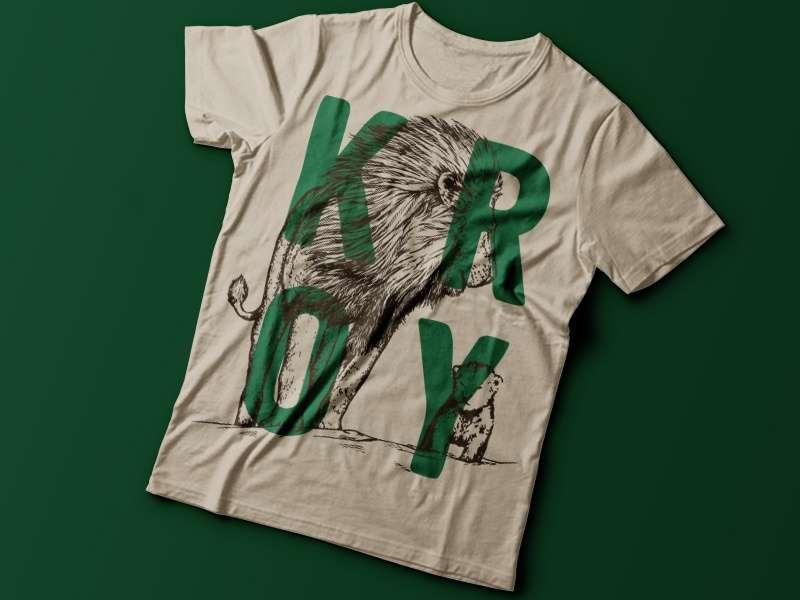 Apparel - Tshirt Design for KROY media by marketography